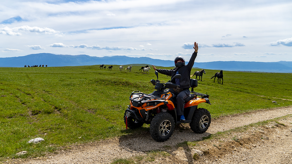 Stunning Nature packed with Quad Adrenaline Fun